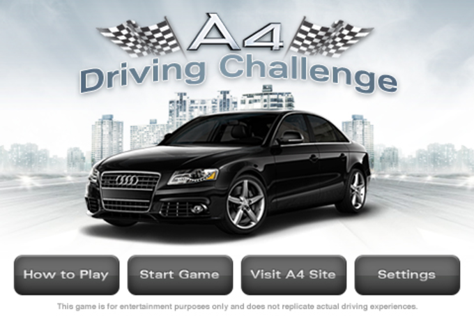 Audi A4 Driving Challenge
