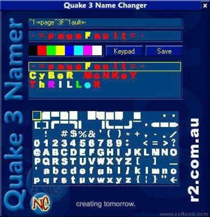 Quake III Name Changer