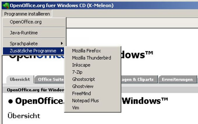 OpenOffice PrOOo-Box