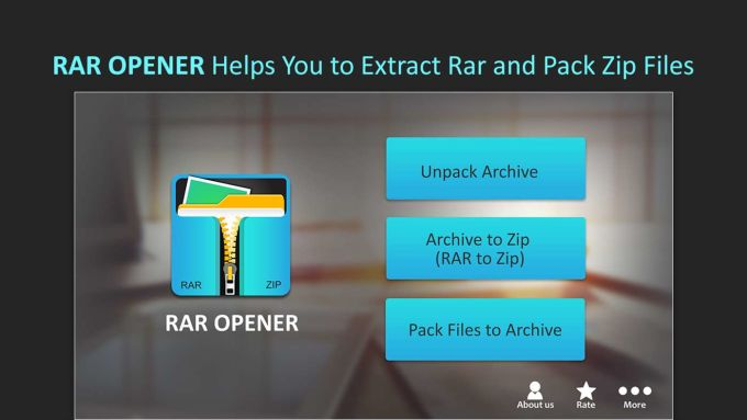 RAR Opener & RAR to ZIP Converter