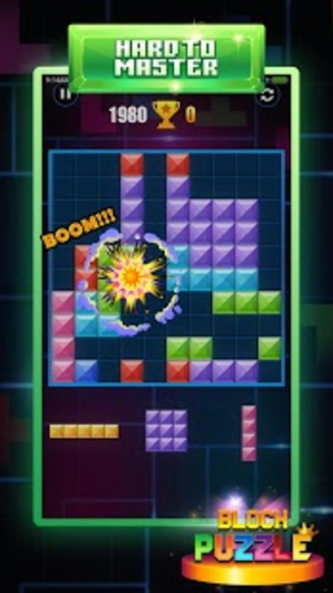 Block Puzzles Game for Brick Blocks Jewel Unreleased
