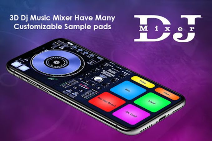 DJ Name Mixer With Music Player - Mix Name To Song for