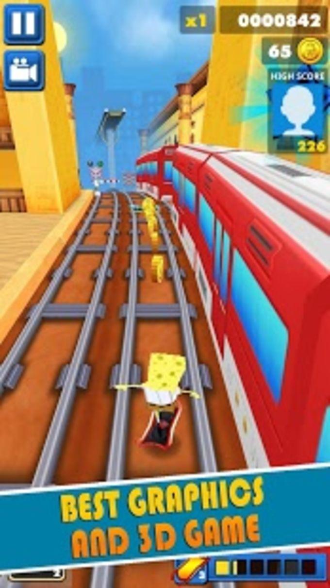 Subway Spongebob Temple Run