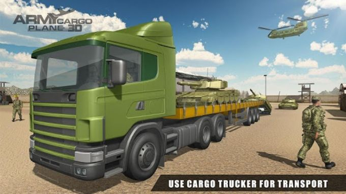 US Army Transport Simulator 3D