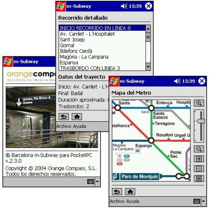 Barcelona m-Subway