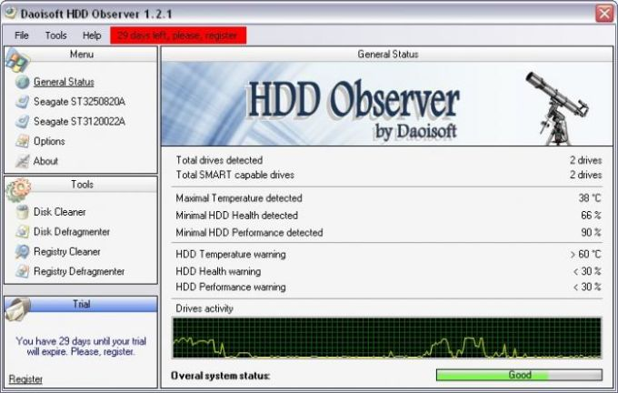 HDD Observer