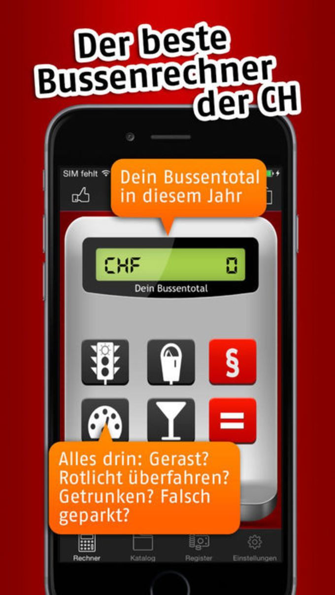 Bussenrechner Schweiz