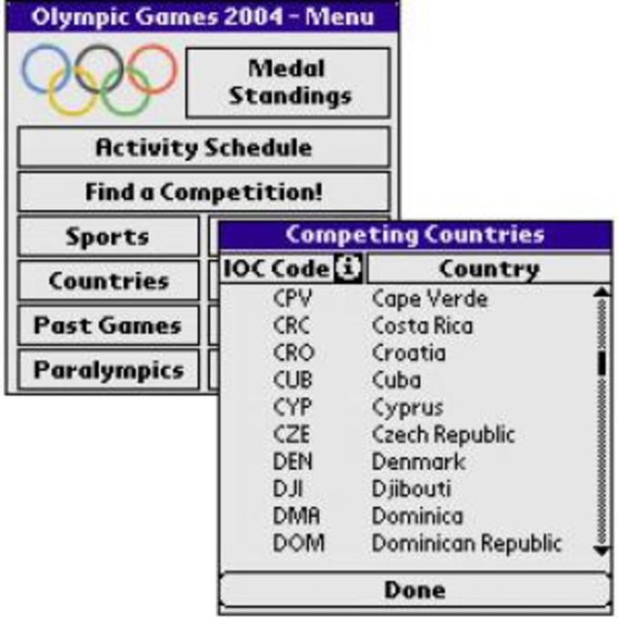 Athens 2004 Guide & Schedule