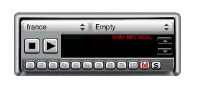WorldRadio Widget