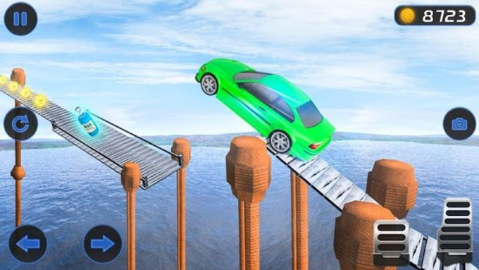 Impossible Car Stunt Driving