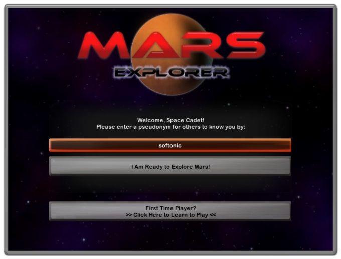 Mars Explorer Widget