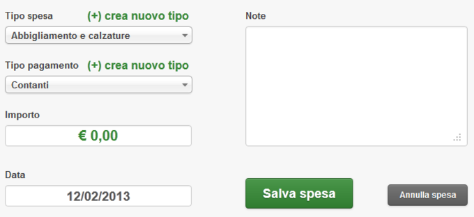 Bilancio Familiare Facile.it