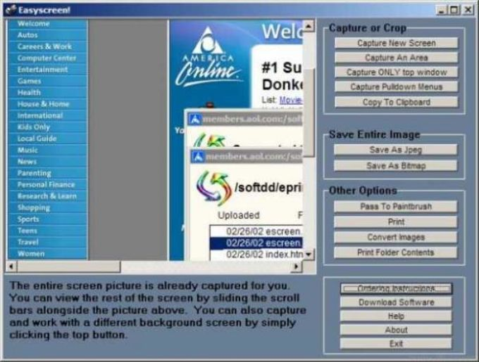 Easyscreen Screen Capture