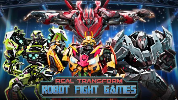 Robot Fighting Games Real Transform Ring Fight 3D