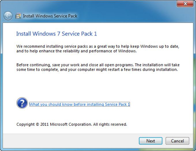 windows service pack 1 for windows 7 free download