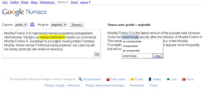 Google Tłumacz