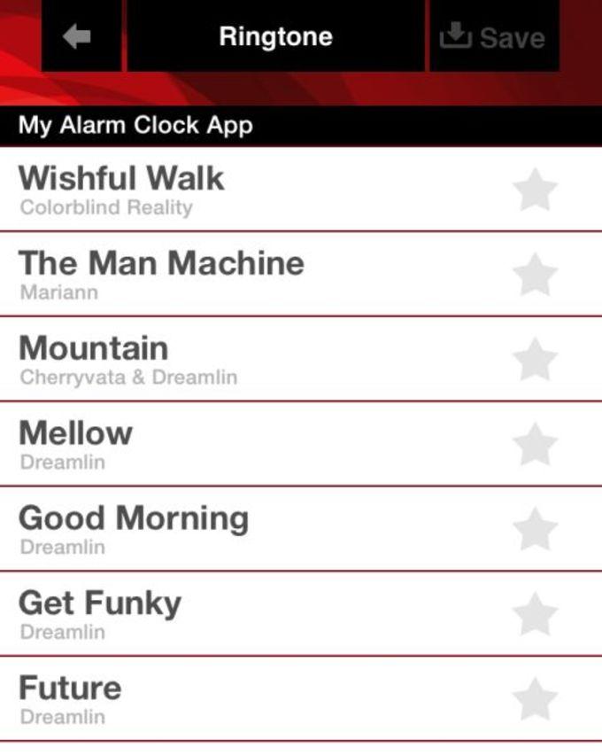 Sonneries Gratuites pour l'iOS 7