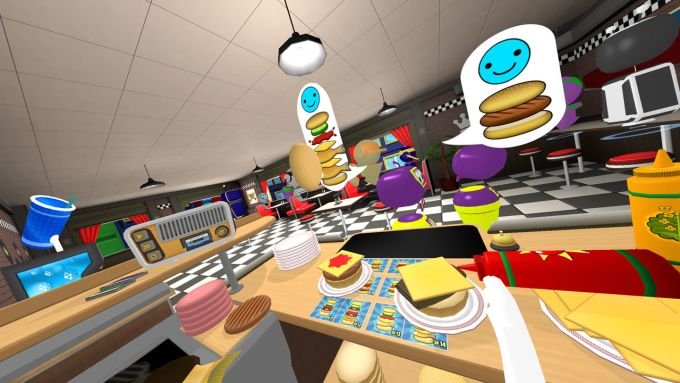 VR The Diner Duo PS VR PS4