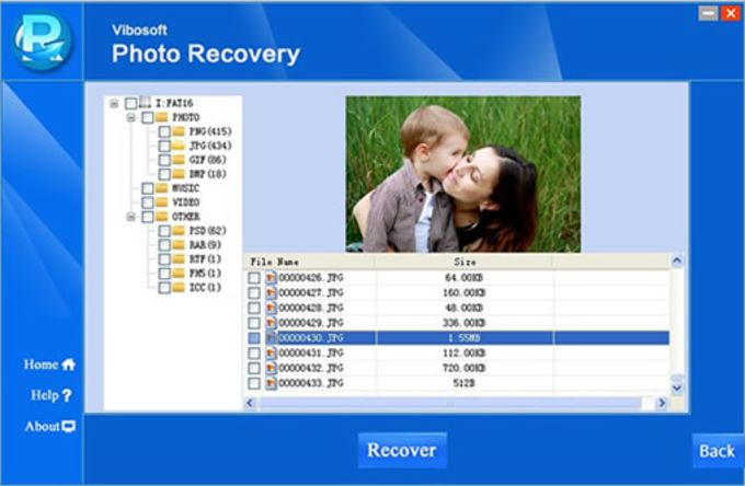 Vibosoft Deleted Digital Photo Recovery Software