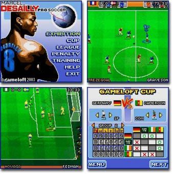 Marcel Desailly Pro Soccer