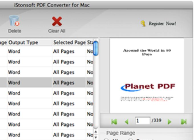iStonsoft PDF converter for Mac