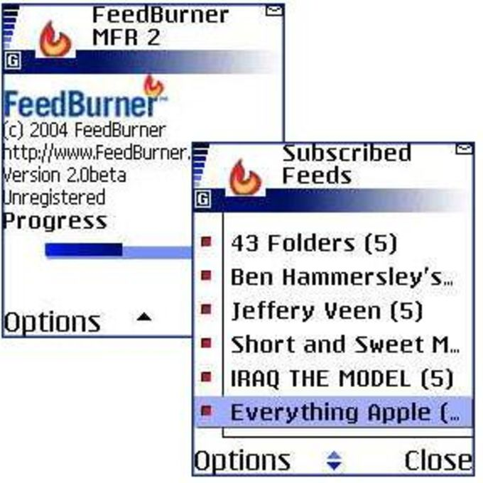FeedBurner MFR