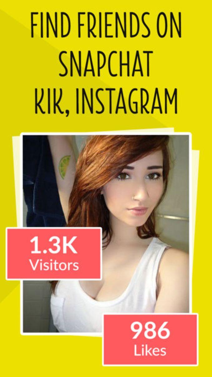 Addme For Snapchat Kik Friends