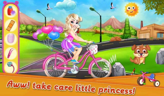 Fairy Princess Bicycle Fiasco