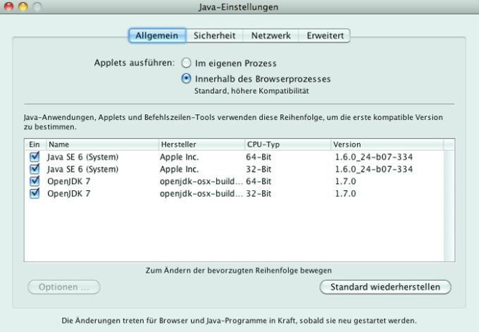 OpenJDK OSX Build