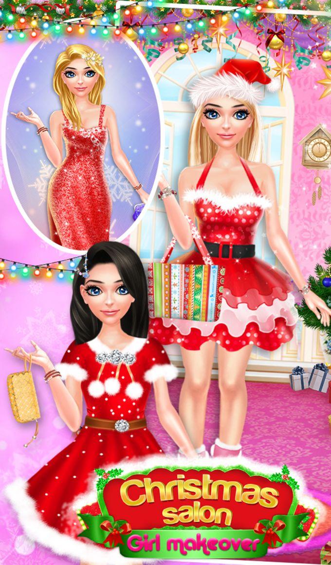 Christmas Salon Girl Makeover
