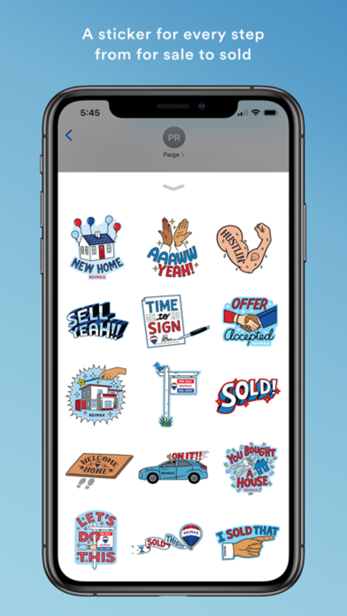 REMAX Stickers for iPhone - Download