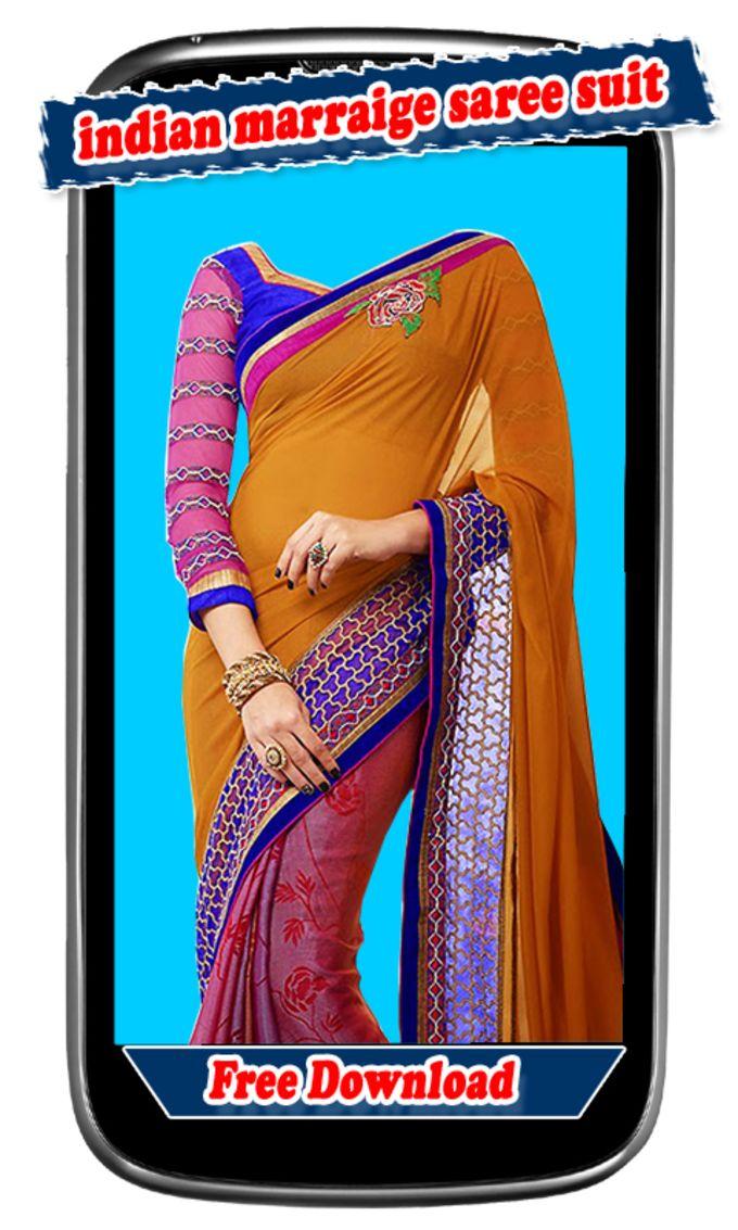 Women Indian Marriage Saree