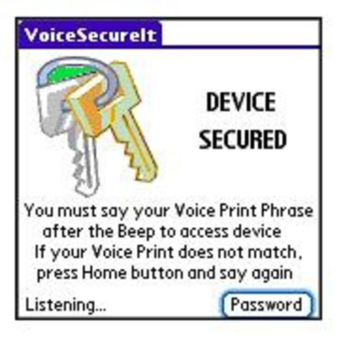 VoiceSecureIt