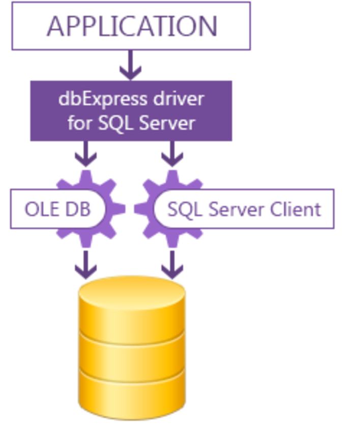 dbExpress driver for SQL Server Standard