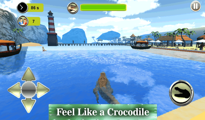Swamp Crocodile Simulator Wild