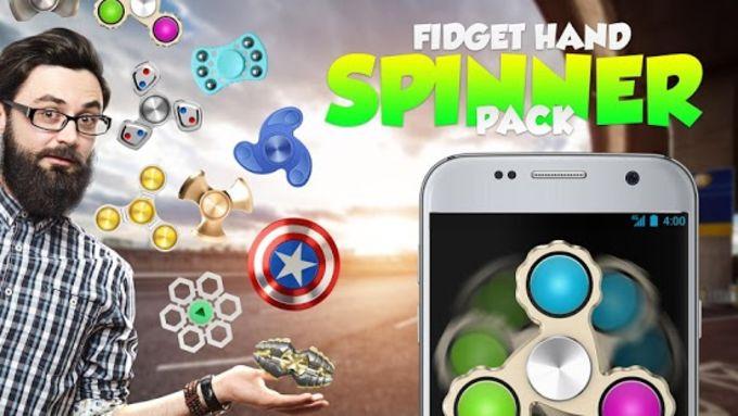 Fidget hand spinner pack