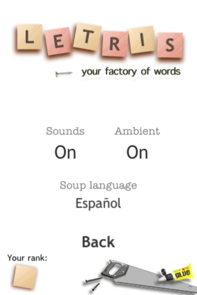 Letris: el juego de palabras