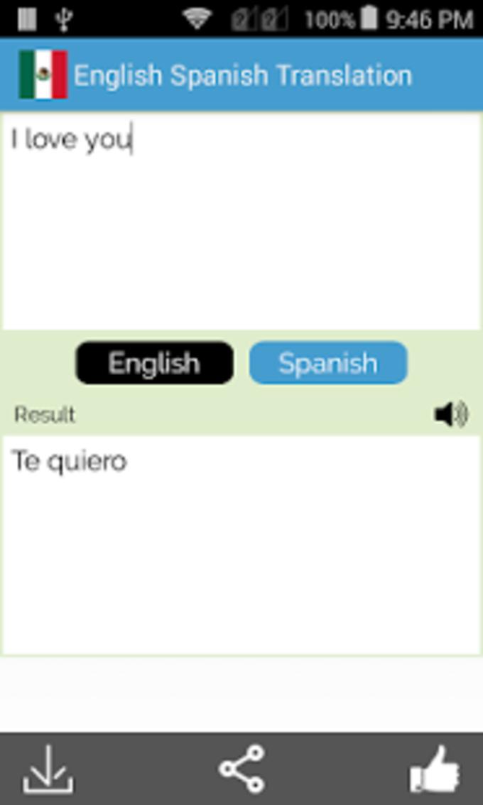 Español Inglés Traductor