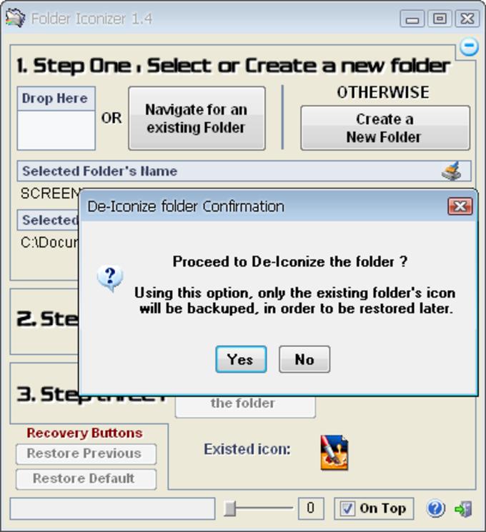 Folder Iconizer