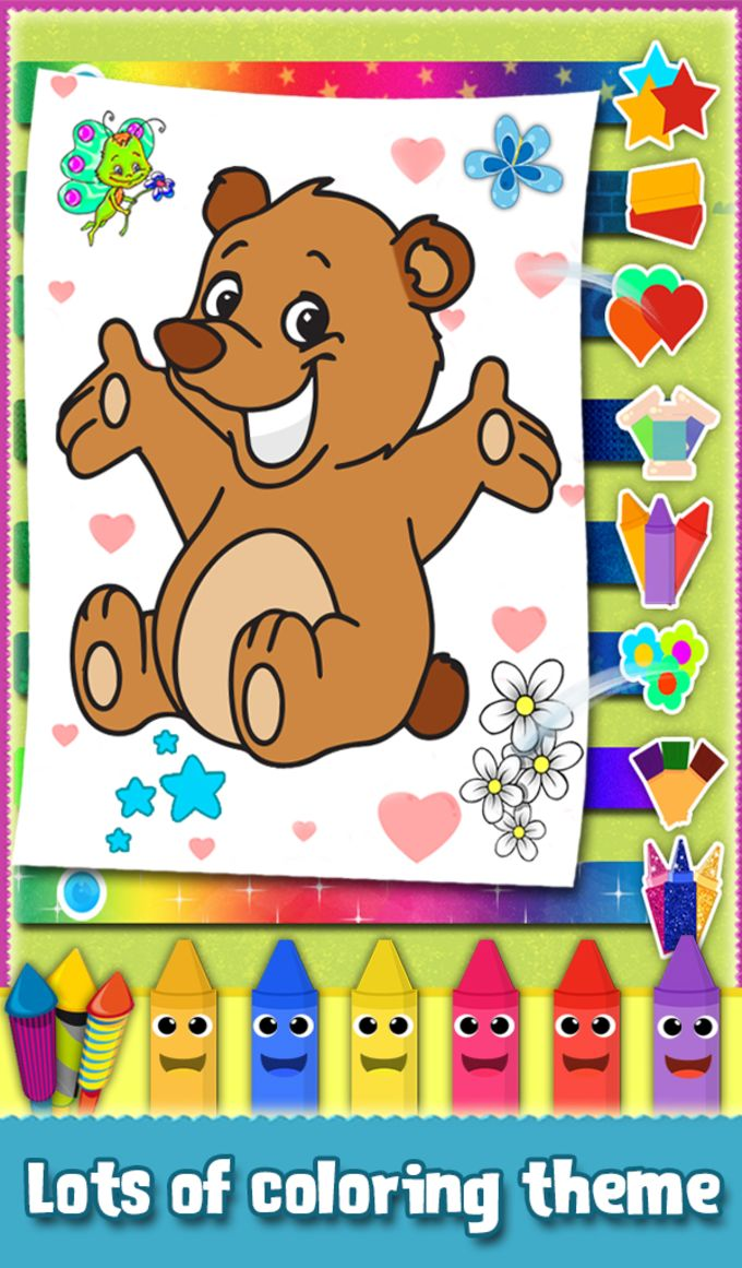Kids Sparkles Coloring Book
