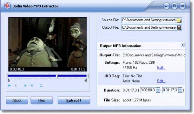 Jodix Video MP3 Extractor