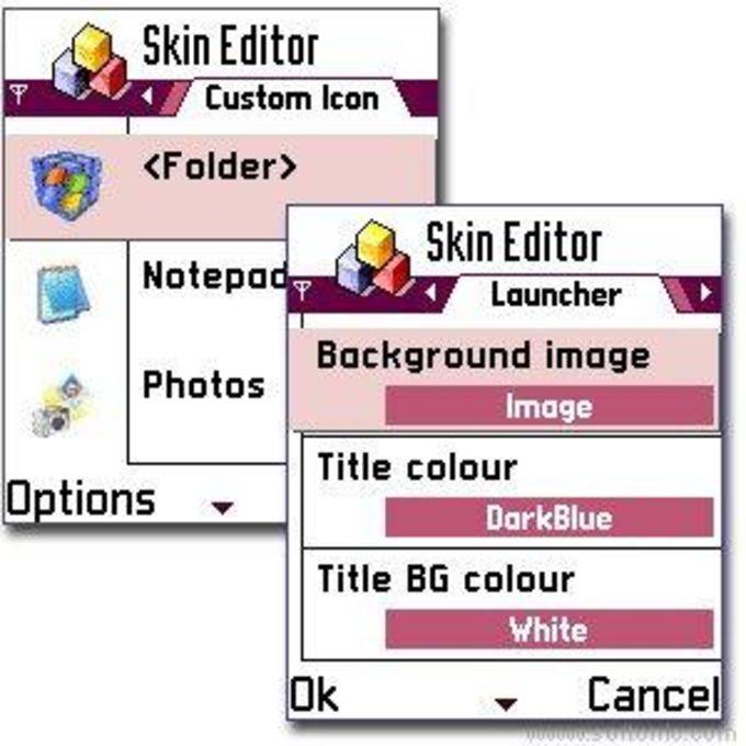 SmartLauncher Skin Editor