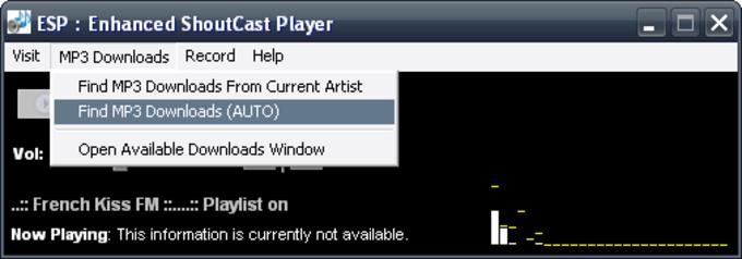 ESP: Enhanced Shoutcast Player