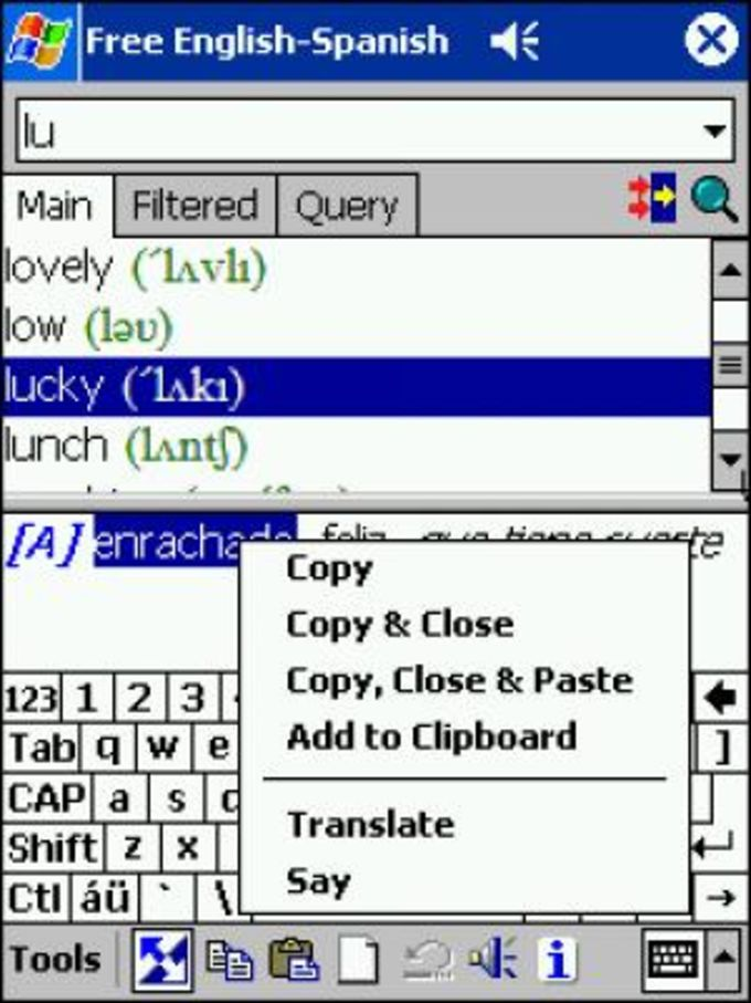 LingvoSoft Dictionary Standard English-Spanish