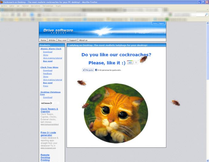 Cockroach on Desktop