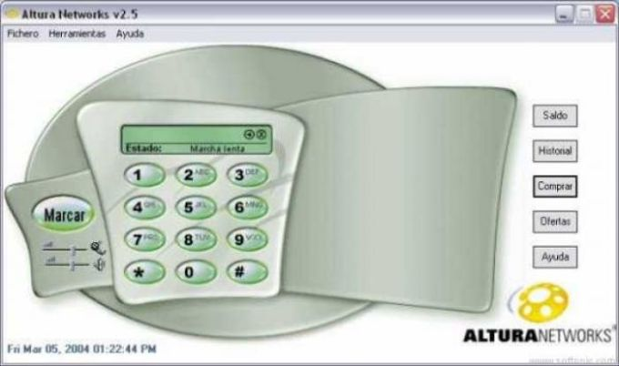 Altura Networks PC a Tel. DIALER
