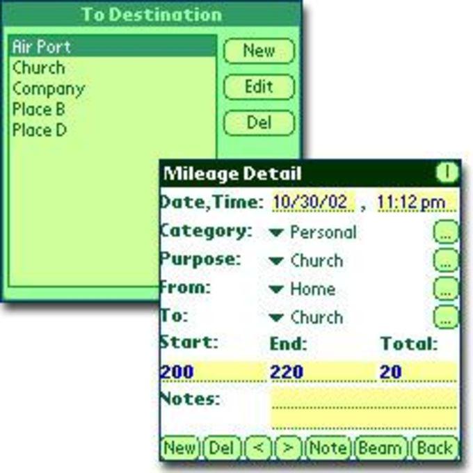 IEO-Mileage Track
