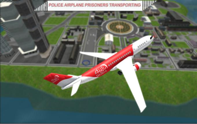 Jail Criminals Airplane Flight