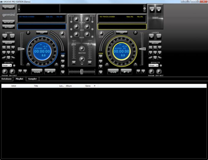 software dj Gemini professional groove