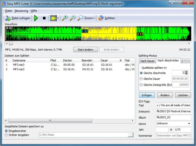 mp3 cutter and mixer software free download